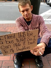 father (vhines200) Tags: sanfrancisco sign father homeless 88 panhandler 2016