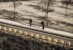 Sniper (http://rearnakedjoke.net) Tags: nikon streetphotography korea seoul distance humans cameramen d90 hannam d7000