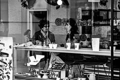 chocolate is cheaper than therapy (japanese forms) Tags: leica blackandwhite bw blancoynegro monochrome blackwhite zwartwit random chocolate candid streetphotography schokolade chocolade vlaanderen mittelformat schwarzweis straatfotografie strasenfotografie japaneseforms2016