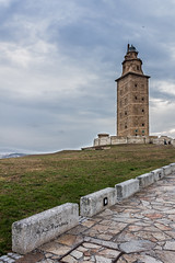 Torre de Hercules (A.J. Paredes) Tags: ocean trip viaje espaa lighthouse tower water faro spain agua corua torre galicia hercules paredes oceano atlantico acorua atlanti ajota85 ajparedes