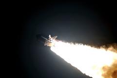 Endeavour launches into the night on STS-123 (NASA on The Commons) Tags: johnson iss foreman endeavour kibo internationalspacestation gorie dextre behnken takaodoi expedition16 sts123 garrettereisman richardlinnehan