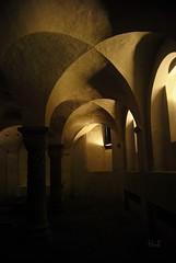 Crypt of St. Libuinus church, Deventer (hub en gerie) Tags: church netherlands wow nederland crypt kerk deventer boog overijssel autofocus crypte gewelf greatphotographers platinumpeaceaward wowl2 wowl3 stlibuinus