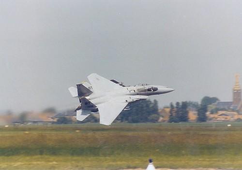 F15 Pair USAF Take-off