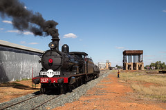 "2016-03-19 LVR 3237 Lake Cargelligo End of Line 8S01 (Dean ""O305"" Jones) Tags: lake tower water train tour au railway australia steam valley nsw newsouthwales smut lachlan lvr 3237 lakecargelligo cargelligo ungarie 8s01"
