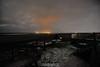 City lights (Ed.ward) Tags: ocean sea sky holiday snow clouds lights iceland terrace horizon seats atlanticocean 2014 nikond700 nikonaffisheyenikkor16mmf28d nikonafnikkor20mmf28
