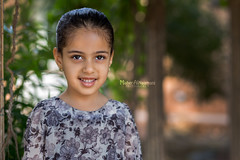 Smile! (mahernaamani) Tags: light portrait nature beautiful beauty smile face kids canon wow garden children photography photo kid model eyes heaven photographer child faces natural little modeling outdoor farm small innocent 85mm laugh lil 18 oman danya lighten 6d  omani portraitphotography modelingphotography naturelight     modelphotography   canon85mm      canon6d   outdoorgraphy kidsarekids