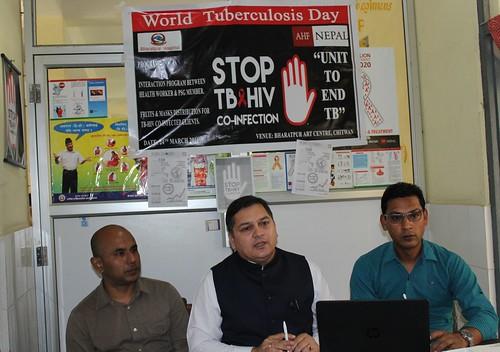 AHF Nepal: International TB Day March 24, 2016