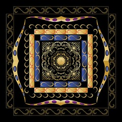 Circularium No 2377-01 (bennington.alan) Tags: life bon art geometric yoga modern circle death ancient graphic maya nirvana gates contemporary decorative buddha stupa indian magic religion birth mandala cycle offering symmetrical mystical tibetan balance meditation karma organic wisdom rebirth universe sandpainting hindu healing sikhism symbolic yantra taoism visionary radial symbolism centerpoint resurrection reincarnation elaborate jainism theravada rigveda gurmukh sansara sadhanas avidya brahmacarya manmkh