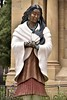 Usa  Nm Santa Fe Cathedral Virgen india