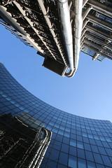 Space Oddity (richardr) Tags: uk greatbritain england reflection building london english glass metal architecture modern skyscraper reflections europe european unitedkingdom britain contemporary foster normanfoster british rogers europeanunion limestreet cityoflondon lloydsbuilding richardrogers willisbuilding squaremile