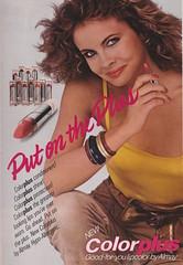 Almay 1981 (moogirl2) Tags: vintage retro 80s 1981 seventeen vintageads vintagefashion almay 80scosmetics
