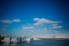 Egypt (Akira {Chiehtec}) Tags: cruise river temple egypt horus niles edfu
