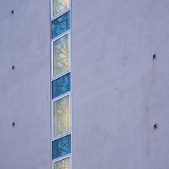reflections in blue and yellow (Cosimo Matteini) Tags: england reflection london window architecture pen unitedkingdom olympus gb m43 mft ep5 cosimomatteini mzuiko45mmf18
