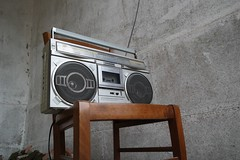 Old tapes (manuelgarduno88) Tags: music radio vintage silla musica cassette tapes oldtapes grabadora