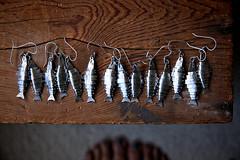 Lure - Fry (Carin Jones - Jonesing for Jewelry) Tags: life fish art nature outdoors still fishing fisherman artist salmon jewelry explore earrings trout naturalist metalsmith sterlingsilver
