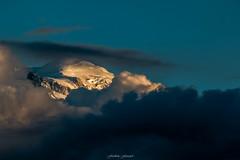 Un Soir d't sur le Mont Blanc n4 (Frdric Fossard) Tags: nature montagne alpes lumire altitude glacier neige nuage paysage soir montblanc glace dme hautesavoie sommet merdenuage massifdumontblanc