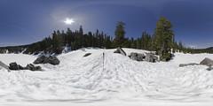 Mason Lake, WA in April (Bellevue Fine Art Repro (Scott)) Tags: panorama lake 21 mason washingtonstate ratio equirectangular