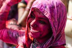 Krishna's Radhey @ Nandgaon,Mathura (vjisin) Tags: travel portrait people woman india girl smile field 50mm nikon asia colours bright happiness chennai holi depth springfestival nikond3200 travelphotography portraitphotography indiangirl niftyfifty incredibleindia indianheritage sowcarpet chennaiweekendclickers mychennai cwc497