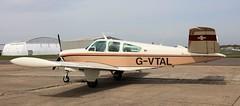 Beech V35 Bonanza G-VTAL Lee on Solent Airfield 2016 (SupaSmokey) Tags: lee solent beech airfield bonanza 2016 v35 gvtal