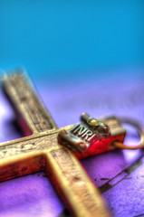 easter sunday (fernando butcher) Tags: macro easter 50mm nikon cross sunday free crucifix inri hdr freeuse d7000 artofimages welovecameras