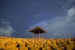 milkyway at Sanur Beach (adamraufz.inc) Tags: longexposure sky bali water beautiful night indonesia landscape asian star scenery scenic landmark exotic milkyway