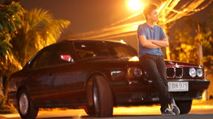 IMG_8599 (randolf.bautista) Tags: street light lamp car night dark bmw 525i