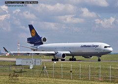 Lufthansa D-ALCN McDonnell Douglas MD-11 London Stansted Airport 31 March 2016 (bananamanuk79) Tags: airplane aircraft aviation planes runway lufthansa stansted spotting md11 mcdonnelldouglas trijet planespotting spotter lufthansacargo mcdonnelldouglasmd11 londonstanstedairport dalcn