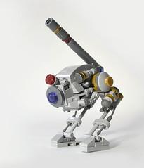 Bird Dog (Klikstyle) Tags: robot lego military future laser mech foitsop