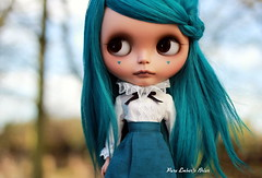 Am I dreaming (pure_embers) Tags: doll dolls blythe custom pure embers mechanique sammydoe tanbriarembers briartakaraneotealalpacahairrerootukgirlpurepoupee