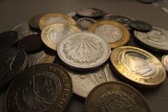 Peso mexicano (marcoantmolina) Tags: mexico coins mexicano dinero peso monedas