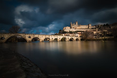 Beziers [Explore]@Hrault (Benjamin MOUROT) Tags: longexposure france nature contrast dark french landscape view pov montpellier explore lee paysage lente francia clair beziers nisi obscur languedocroussillon filtre hrault poselongue nd1000 nd110 retardateur photoshopcs3 1018mm faguo bigstopper canon70d bitterois benjaminmourot lightroom5