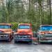 Three Old Trucks HDR