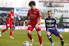 10580924-063 (rscanderlecht) Tags: sports sport foot football belgium soccer playoffs oostende roeselare ostend voetbal anderlecht playoff rsca mauves proleague rscanderlecht kvo schiervelde jupilerproleague
