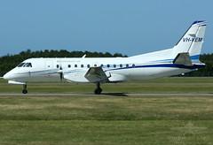 VH-VEM SAAB 340 CORPORATE AIR (QFA744) Tags: corporate air saab 340 vhvem