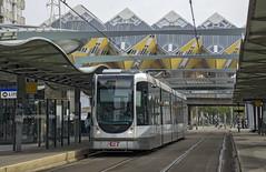 Tram Rotterdam Blaak (Geoff Griffiths Doncaster) Tags: holland netherlands dutch rotterdam blaak tram 2138