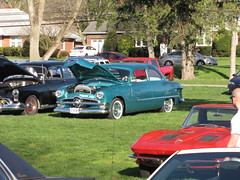 Macungie Cruise 4/16/16 1950 Ford (Speeder1) Tags: show park street cruise blue red orange black hot green classic ford chevrolet 1955 nova car yellow 1932 truck 1931 memorial purple pennsylvania muscle air machine pa 1957 rod mopar mustang 50 55 bel 1950 57 macungie
