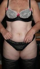 446 (jonashot1) Tags: nude tits bbw bra wife