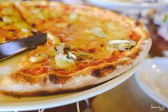 Pizza at Aria (Daniel Y. Go) Tags: travel vacation food beach fuji philippines shangrila pizza boracay aria shangrilaboracay ariacucinaitaliana x100t fujix100t
