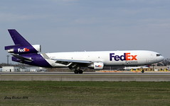FedEx MD 11 (coreybrickner) Tags: msp landing fedex md11 trijet kmsp