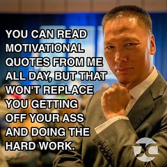 Words have no meaning if there's  no action behind them. Work hard on the weekend, not for the weekend. #success #motivation #workhard #hardwork #hustle #friday