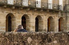 Don't you think that it is magical? (dorablancoheras) Tags: old santiago love stone peace amor romantic turismo antiguo ayuntamiento obradoiro piedra romntico paz