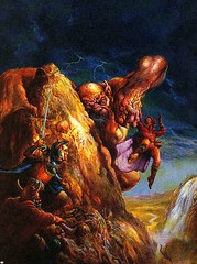Rescue (Count_Strad) Tags: game art artwork dragons adventure cover add rpg dd module dungeons tsr