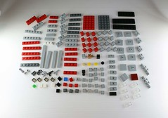 The parts you'll need... (Frost Bricks) Tags: lego hq firehouse ghostbusters moc microscale