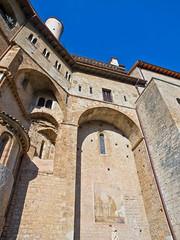 San Benedetto # 4 (schreibtnix) Tags: italien sky italy travelling clouds reisen himmel wolken sanbenedetto monastery fresco kloster subiaco fresken olympuse5 schreibtnix