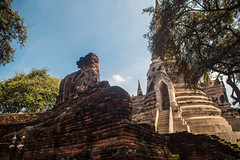 Thailand - Wat Phra Si Sanphet (Cyrielle Beaubois) Tags: thailand temple ancient ruins si buddhism thalande asie wat phra ayutthaya bouddhisme 2015 sanphet canoneos5dmarkii cyriellebeaubois