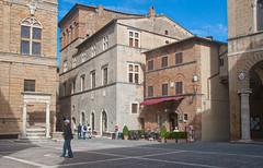 Piazza Pio II, Pienza (john weiss) Tags: italy places unescoworldheritagesite pienza valdorcia edits lrcrop lrstraighten labcf11 lrvibclar piazopioii