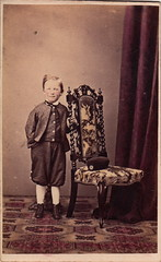 Percival H. W. Parsons, aged 5 years (1867) (pellethepoet) Tags: boy portrait chair child australia photograph tasmania cdv cartedevisite hobart percy percivalparsons percivalhwparsons phwparsons percivalhowardwhiteparsons