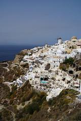 Homes on the edge (Steenjep) Tags: sea house holiday home view santorini greece caldera oia ferie grkenland