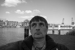 Rotterdam 01-05-2016 SM-40 (Pure Natural Ingredients) Tags: blackandwhite bw white black holland me monochrome rotterdam nederland thenetherlands zwart wit zuid selfie benw