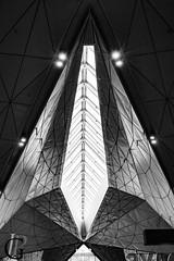 Pulkovo's airport (Jean-Phi92) Tags: bw monochrome architecture blackwhite noiretblanc fb nb ceiling architectural plafond dtailsarchitecturaux techniquephoto architectureetbatiments canonpowershotg7x